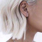 T-bar oorbellen