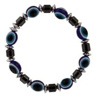 Hematiet oog blauw