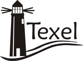 Vuurtoren sticker Texel