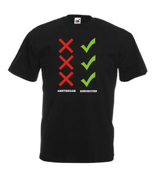 Eindhoven vs Amsterdam T-shirt