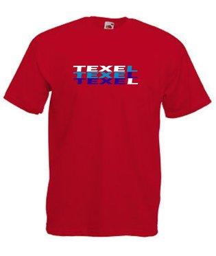 3 x Texel rood