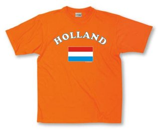 Holland vlag T-shirt
