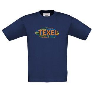 Texel Tekst navy