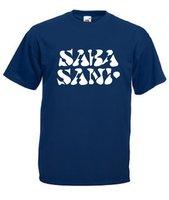 Sarasani T-shirt Vintage navy