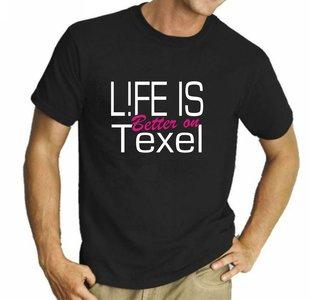 Life op Texel zwart